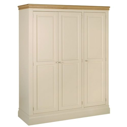 Tatton  Ladies Triple wardrobe